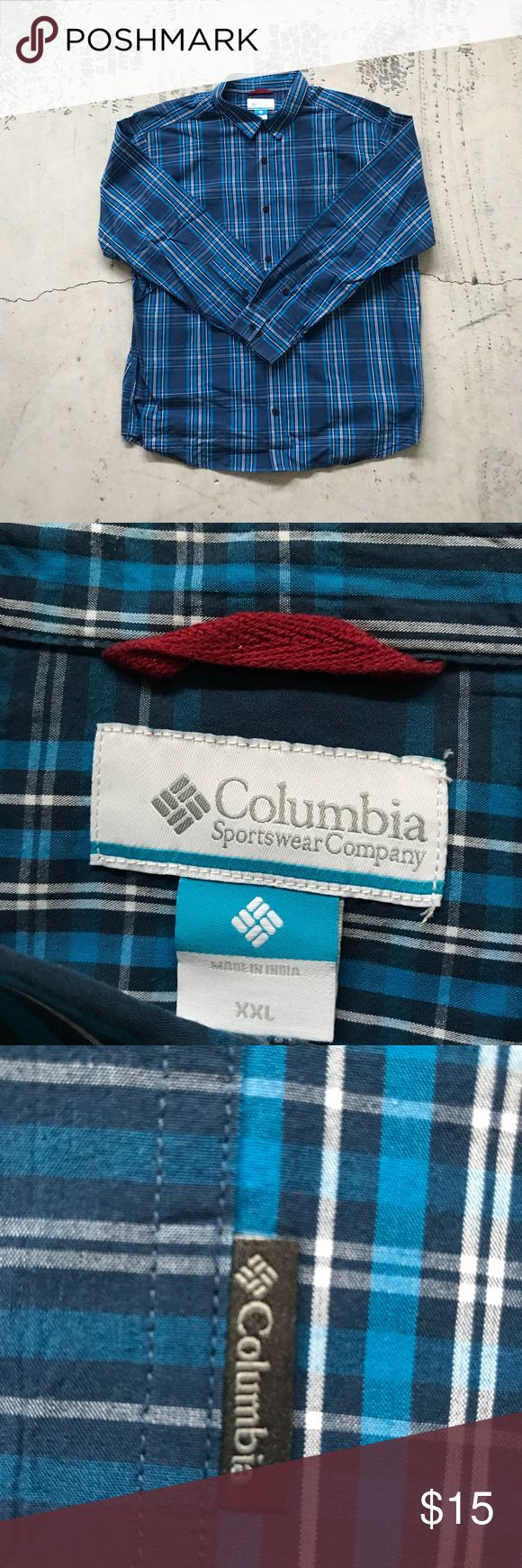 Columbia Sportswear Company Long Sleeve Shirt Columbia Sportswear Company Long Sleeve Button-Up Shirt. Lumberjack vibes. Columbia Shirts Casual Button Down Shirts