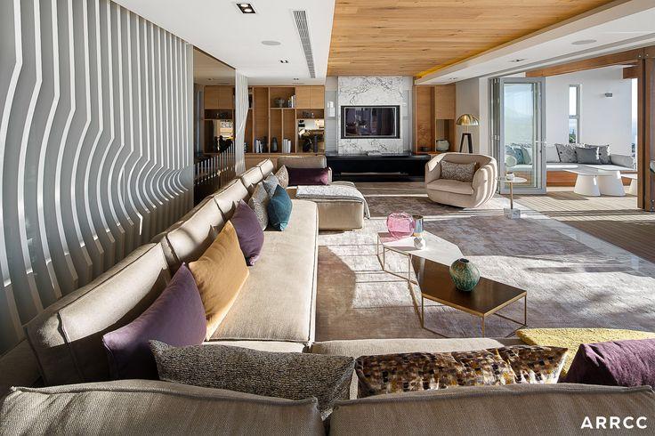 ZA Cape Villa - ARRCC inspiration, design inspiration, interior decor, interior architecture, house ideas, luxury, living room