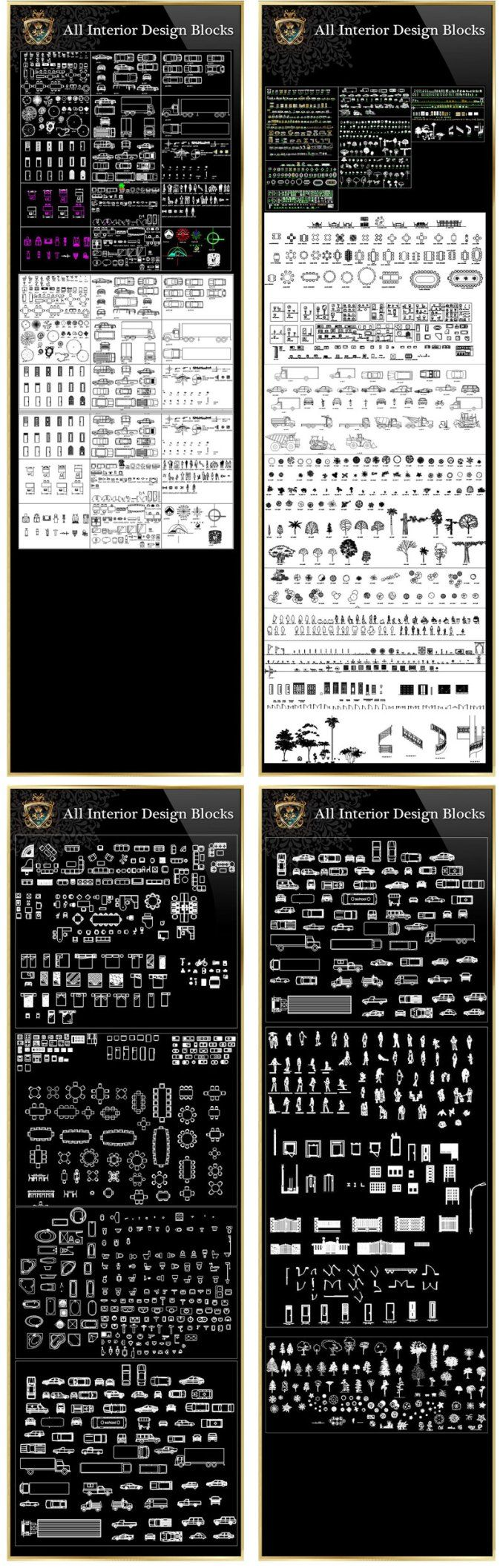【Architektonische CAD-Zeichnungen Bundle】 (Best Collections !!) | Kostenlose Cad-Blöcke & Zeichnungen Download Datenbank