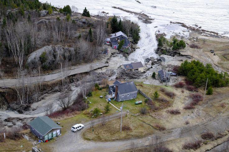 Flood damage Wawa Ontario