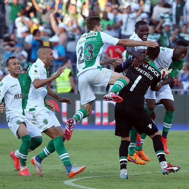O momento em que conquistámos a nossa 16a Taça de Portugal! ##DiaDeSporting #EmModoJamor
