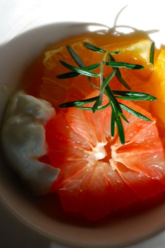 winter citrus compote. unexpected, beautiful, easy dessert. lovely ...