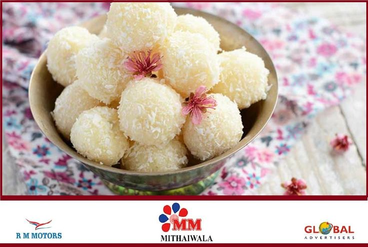 This Baisakhi, add sweetness to your #celebration with melt-in-the-mouth #sweet dish coconut ladoo #HappyBaisakhi   #MMMithaiwala #festival #IndianSweet #IndianMithai #Dessert #InLovewithIndianFood