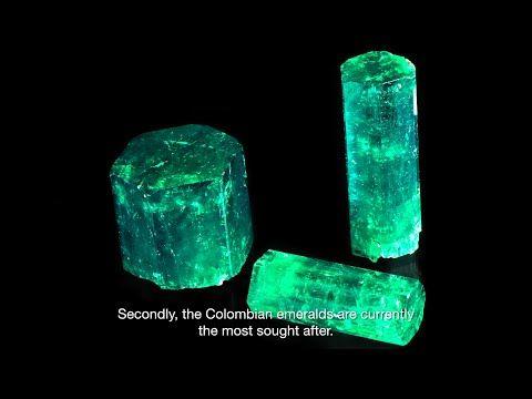 Emeralds: Mineralogy, Gemology, Jewelry - L'École des Arts Joailliers - YouTube