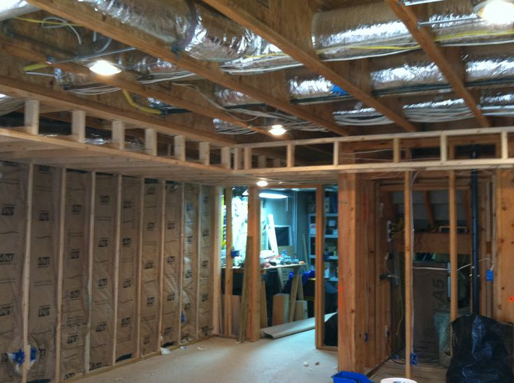 Tray Ceiling Framing Basement Projects Pinterest