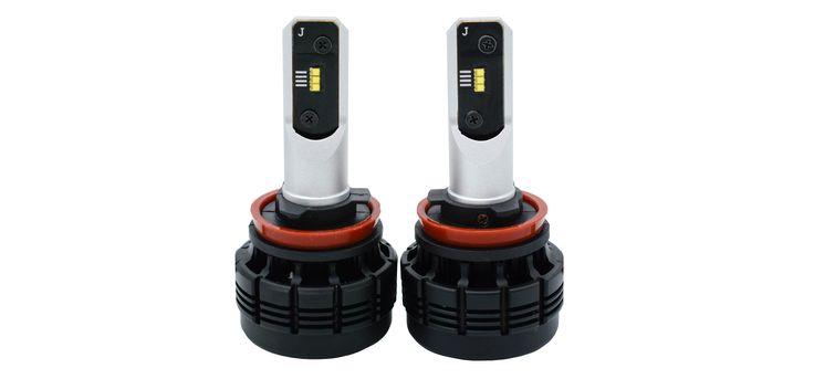 H11 LED headlight LED fog light with ZES LED chips 6500LM