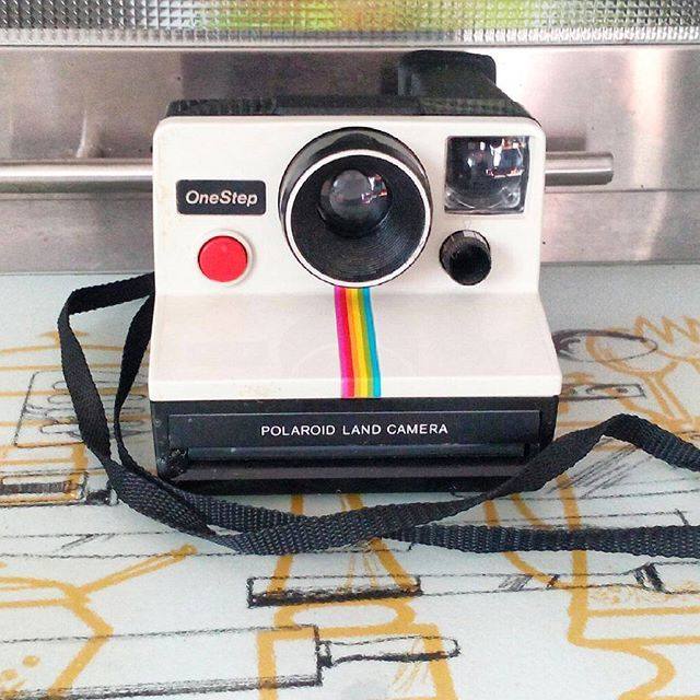 Vintage Polaroid Land Camera.  Does not come with film.