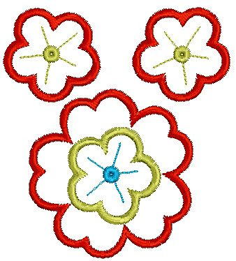 Embroidery Freebie: Floral 03