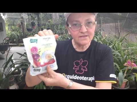 Como fazer adubo caseiro para orquídeas - YouTube                              …