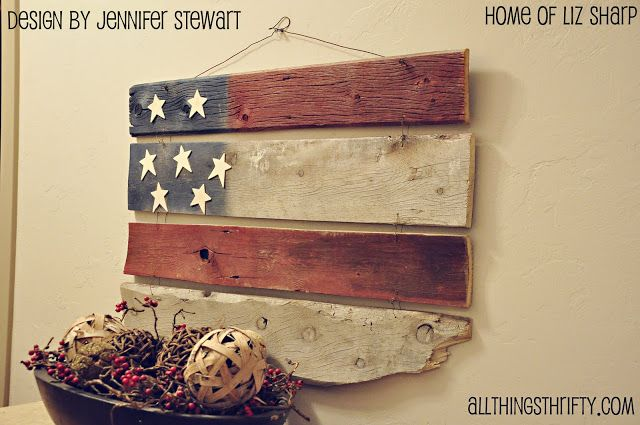 SNS 97 - patriotic projects (and voting poll) | Funky Junk InteriorsFunky Junk Interiors