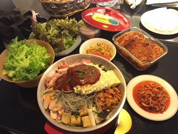 korean party food ideas maangchi recipes food spicy pork korean party food ideas maangchi