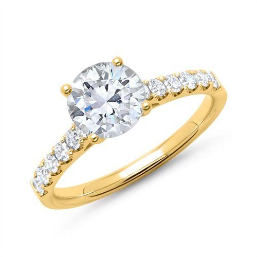 Diamantring verlobung  44 besten V E R L O B U N G Bilder auf Pinterest | Verlobungsring ...