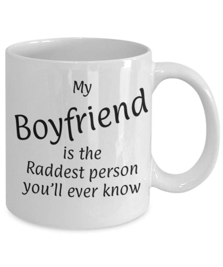 Sweetheart, Partner, My Boyfriend is the raddest person, Fun coffee mug, Christmas gift Boyfriend, Boyfriend appreciation, Gift for him by expodesigns on Etsy
