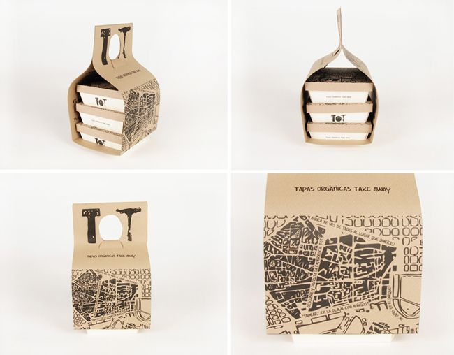 TOT Take-Away (Student Work) | Packaging of the World: Creative Package Design Archive and Gallery