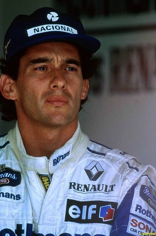 ayrton senna... unforgettable. the greatest f1 driver that ever lived.