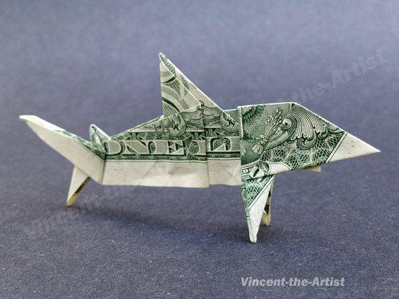 Dollar Bill Origami SHARK