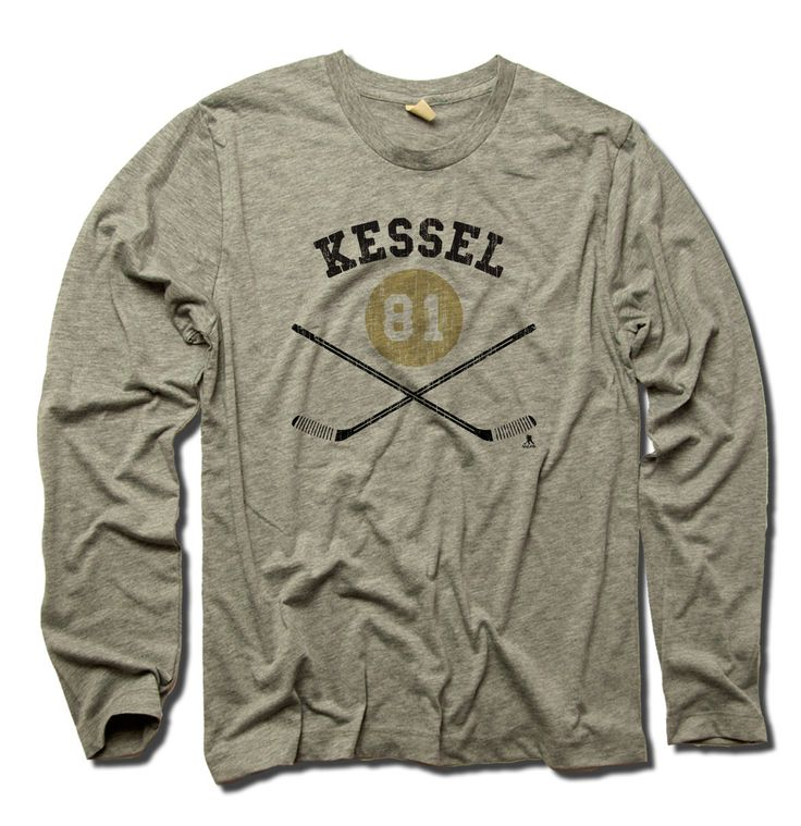 Phil Kessel NHLPA Officially Licensed Pittsburgh Long Sleeve Shirt S-3XL Phil Kessel Sticks Y