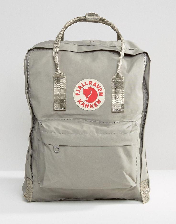Image 1 ofFjallraven Kanken 16L Backpack In Grey