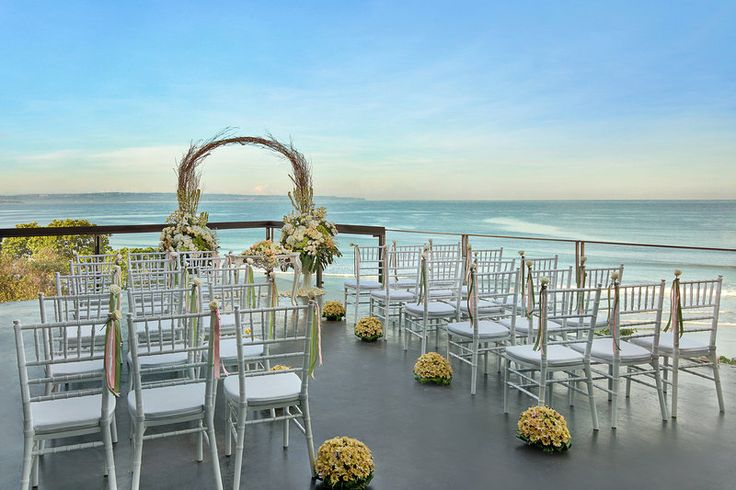 Anantara Seminyak Bali Resort - outdoor wedding setting