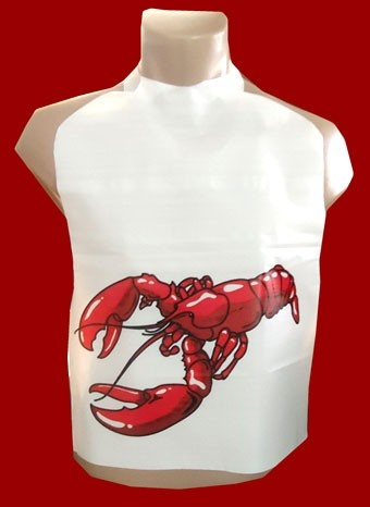 Crawfish Plastic Bibs For Boil, lots of other crawfish boil products too - I definitely need this