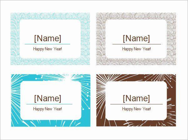 Free Place Card Template 6 Per Sheet Beautiful 7 Place Card Templates Place Card Template Free Place Card Template Wedding Place Card Templates