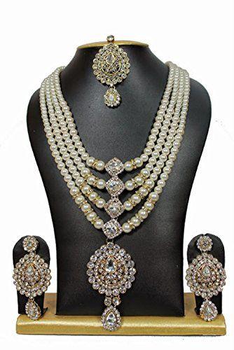 Indian Bollywood Stunning Gold Plated Kundan Long Bridal ... https://www.amazon.com/dp/B01N3756IB/ref=cm_sw_r_pi_dp_x_AfYHyb7WZ3C5E
