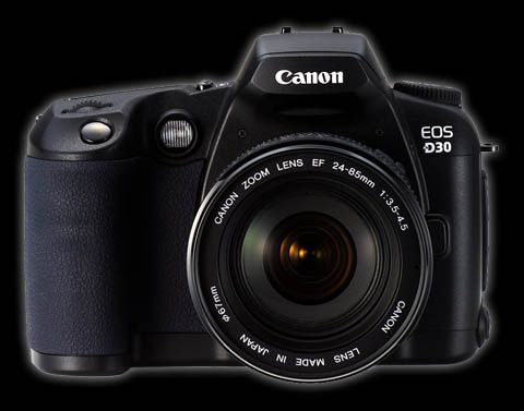 Canon D30 - permanently modified for Infrared photography