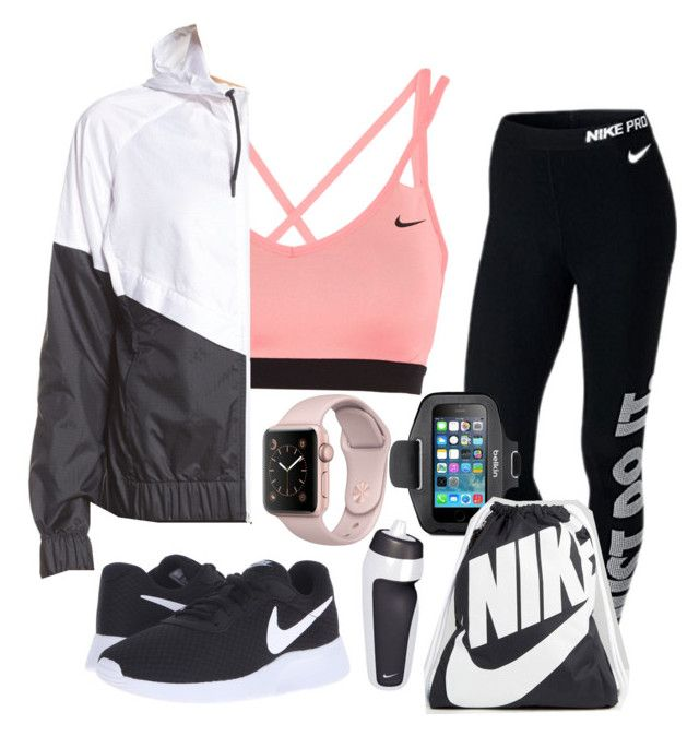 """""""How to wear Nike Workout"""" by leah-1x on Polyvore featuring NIKE and Belkin"""