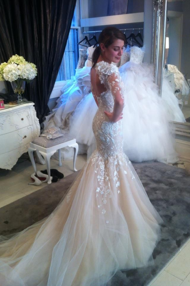 45 best images about steven khalil on pinterest runway for Steven khalil mermaid wedding dress