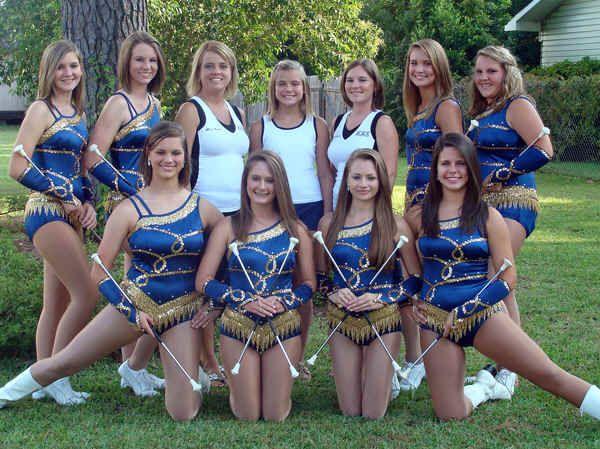 Majorette and Twirler uniforms