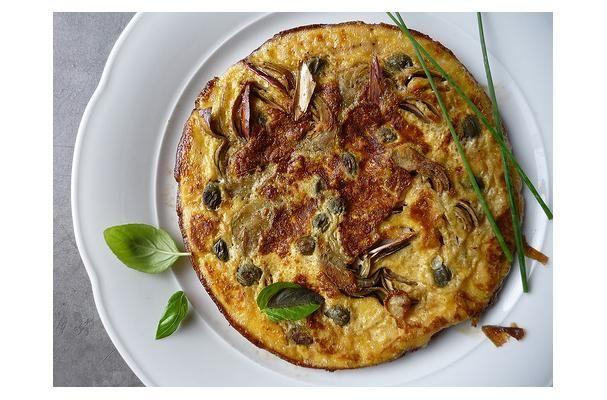 ... Cooking Tips, and Food News | Tortino Di Carciofi - Artichoke Omelette