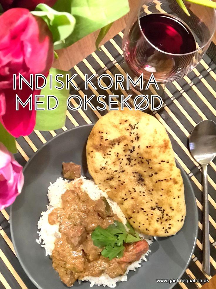 Den bedste indiske korma med smag af Indien og garam masala. Arbejdstiden er lille til trods for den lange simretid. Ægte low fodmap comfort mad.