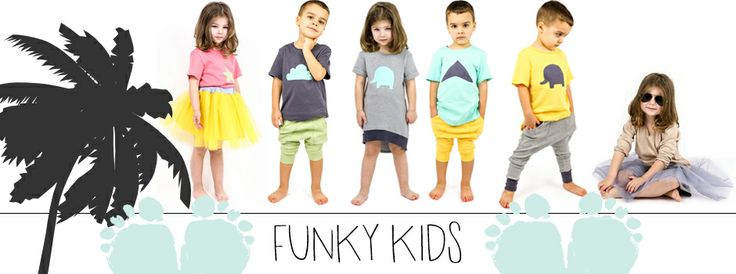 New collection FUNKYKIDS. Clothing for children