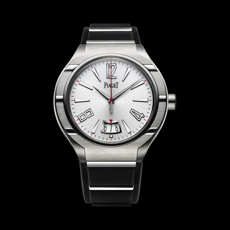 Piaget Polo Watch G0A34010, Self-winding, titanium, steel