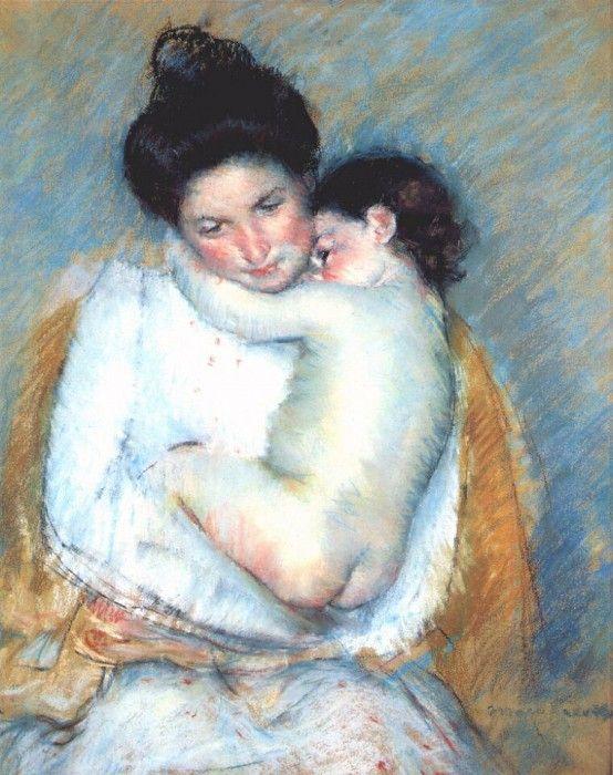 Мать и дитя, ок. 1900. Мэри Кассат