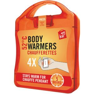 The MyKit Body Warmers includes 4 Body Warmers and 1 instruction leaflet.  MyKits from www.maxmerchandise.co.uk