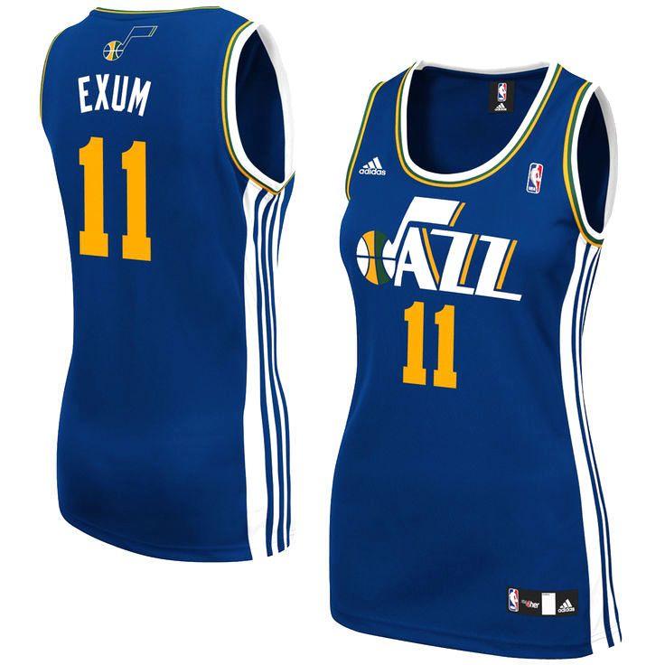 Dante Exum Utah Jazz adidas Women's Replica Jersey - Navy Blue - $34.99
