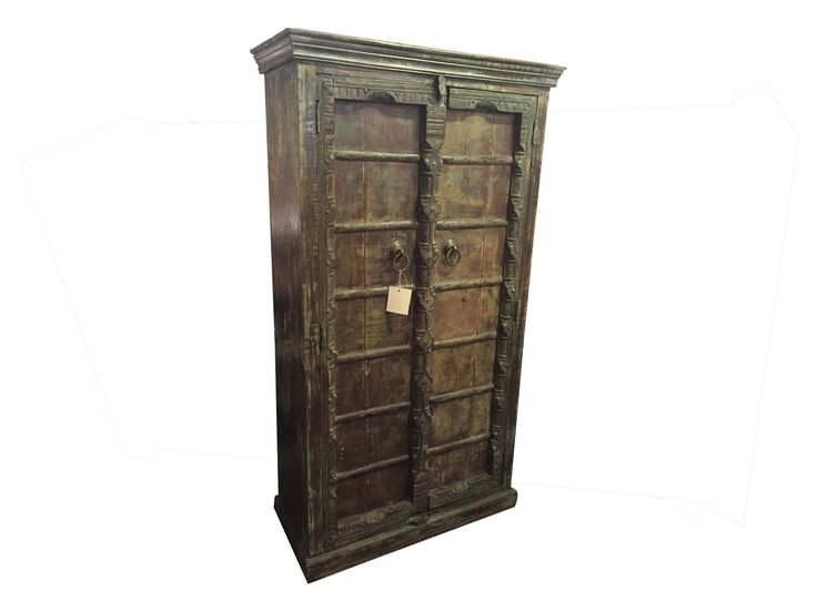 Old Door Armoire  sc 1 st  Pinterest & 22 best images about Artifacts Collection on Pinterest | Small ... pezcame.com