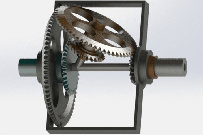 Humpage Reducer, one variant of an epicyclic gear system.