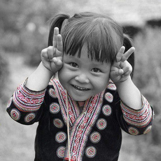 Sourire d'enfant....la vraie vie c'est eux...