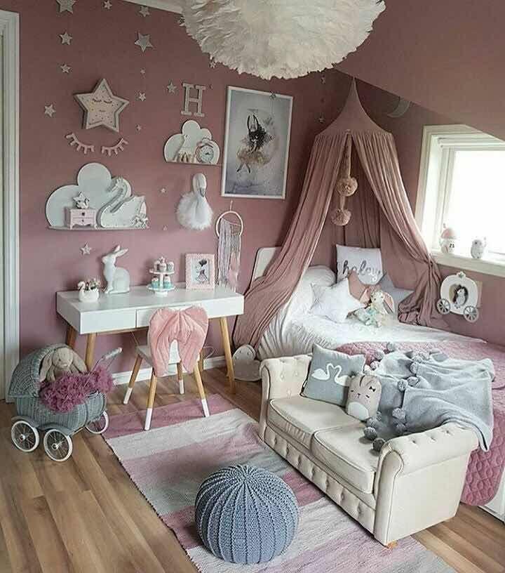 39 incre bles cuartos de ni as modernos 2019 ideas de - Decoracion habitacion infantil nina ...