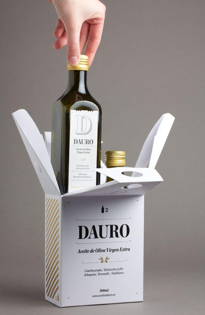 DAURO 2 bottle pack (Packaging, Print) by Lo Siento Studio, Barcelona