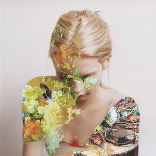 Photograph by Matt Wisniewski. The shades of this photo and the beautiful flower print on her shoulder realllly caught my eye, altogether beautiful effect methinks. Here is the link for his work [http://mattw.us/images/project/futur-couture/]