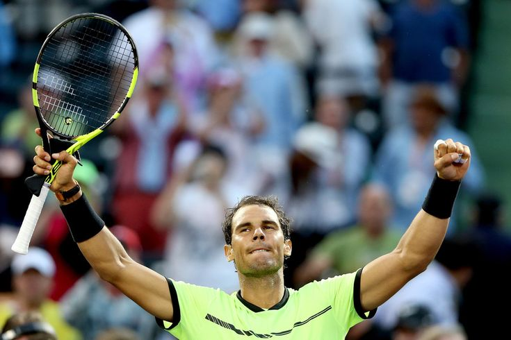 Rafael Nadal is looking forward to clay-court season, but says his job is not done yet in Miami – Rafael Nadal Fans