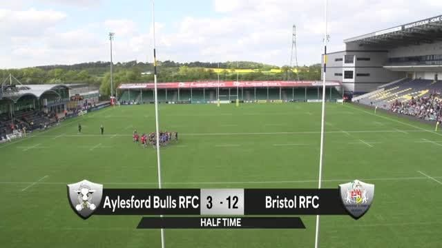 Sit back and enjoy the Women's Premiership Final, with Bristol Rugby Club taking on Aylesford Bulls. Who are you cheering for?