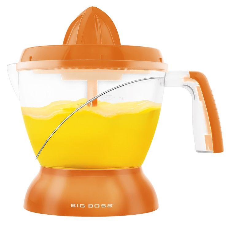Big Boss Citrus Juicer in Orange | YOGA,TAI CHI,RUN,WALK,EAT,DRESS ...