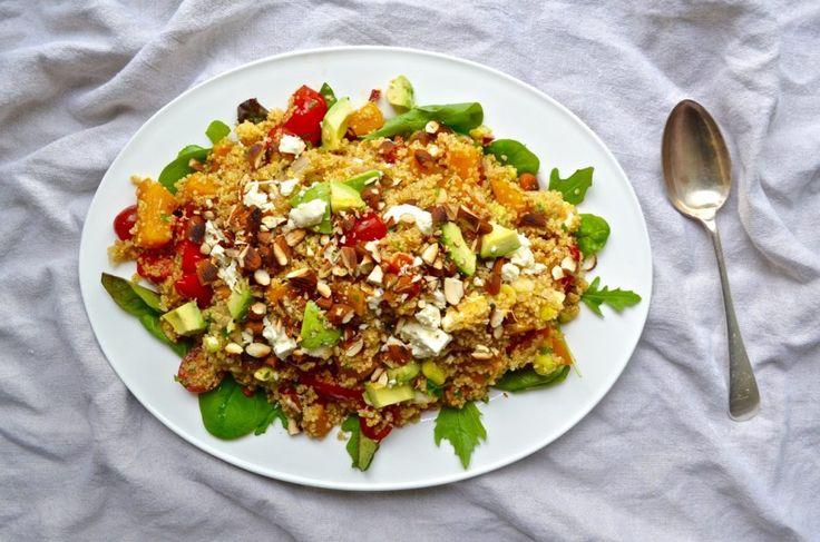 Roast Butternut Quinoa Salad