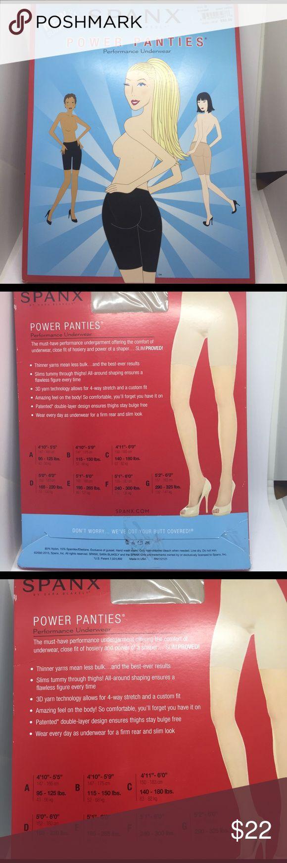 Spanx Power Panties Spanx Power Panties Performance underwear           color-Barest SPANX Intimates & Sleepwear Shapewear