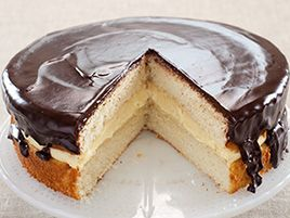 """""""This Boston Cream Pie is wicked awesome."""" Sounds so good!"""