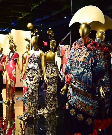 Met China Exhibition - Cultural Appropriation | A brief history of how Chinese decorative arts was appropriated into chinoiserie in the West. #refinery29 http://www.refinery29.com/2015/09/91589/china-through-the-looking-glass-cultural-appropriation